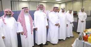 إدارة شؤون الموظفين  تودع الأستاذ خالد جاري