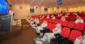 انطلاق فعاليات البرنامج التعريفي في جامعة الملك سعود