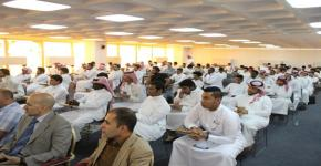 كلية المجتمع تنظم اللقاء الأول لطلابها وتحتفي بالمتميزين