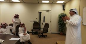 كلية الهندسة تستضيف طلاب من ثانوية جبل طارق