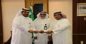 برعاية الدكتور يوسف عسيري: التطوير والجودة وتطوير المهارات تعقد اتفاقية تعاون