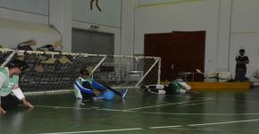 اختتام بطولة الجامعة لكرة الهدف للمكفوفين