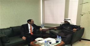 وكيل الجامعة للشؤون التعليمية والأكاديمية يلتقي نائب رئيس جامعة اليرموك الأردنية
