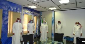 معهد الملك عبدالله لتقنية النانو يستقبل وفد شركة تقنية طاقة