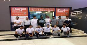 النادي الثقافي والاجتماعي يزور المعرض الدولي للرياضة واللياقة