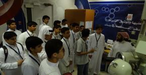 معهد الملك عبدالله لتقنية النانو يستقبل طلاب برنامج إثراء للموهبة والإبداع