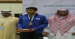 منتخب الجامعة لكرة الطاولة السادس على الجامعات السعودية