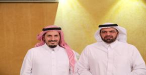 عمادة القبول والتسجيل تكرم الدكتور صالح آل صقر