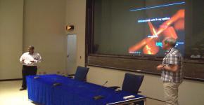 تضمنت محاضرات علمية ومناقشة مشروعات بحثية مشتركة - معهد الملك عبدالله لتقنية النانو يستقبل البروفيسور الألماني أولف كلينيبيرغ