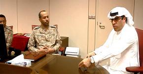 كلية علوم الرياضة تستقبل وفد من القوات البحرية الملكية السعودية