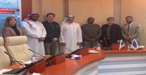 زيارة الأكاديمية العربية الألمانية للباحثين الشباب في العلوم الطبيعية والإنسانيات (AGYA)