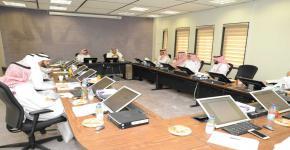المشرف على مكتب تحقيق الرؤية بالجامعة يشارك في مجلس كلية العلوم