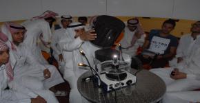 ثانوية بن باز  ومدارس العروبة ومدارس شروق المعرفة  يقومون بزيارة لمتاحف كلية العلوم