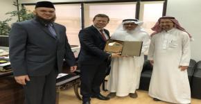 زيارات البروفيسور جويل رودريجز لجامعة الملك سعود