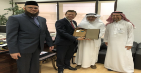 Professor Joel J. P. C. Rodrigues visits to King Saud University