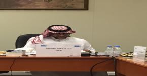 تهنئة بمناسبة الحصول على درجة الماجستير للأستاذ مبارك آل حسينه