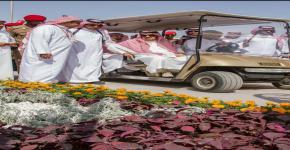 ركن جامعة الملك سعود يلفت أنظار زوار مهرجان ربيع الرياض الثالث عشر