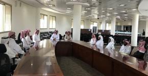 إدارة إسكان الطلاب تجري لقاءات موسعه بموظفي الإدارة