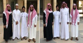 استقبال وفد جامعة الملك عبدالعزيز