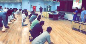 نادي إسكان الطلاب ينظم دورة الإنعاش القلبي