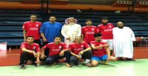 تأهل فريق عمادة شؤون الطلاب بقيادة مدير الإسكان إلى نهائي دوري المنسوبين لكرة القدم