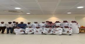 معايدة عيد الأضحى 1440هـ وبدء دوام موظفي كلية الأمير سلطان بن عبدالعزيز للخدمات الطبية الطارئة بجامعة الملك سعود
