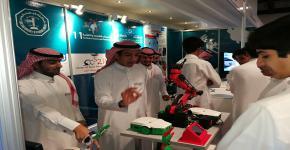 مركز أبحاث الروبوتات الذكية يشارك في مهرجان العلوم والتقنية الحادي عشر بمركز الأمير  سلطان بن عبدالعزيز للعلوم -سايتك- بالخبر