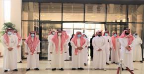 زيارة وفد من الاتحاد السعودي للرياضة للجميع لكلية علوم الرياضة والنشاط البدني في جامعة الملك سعود