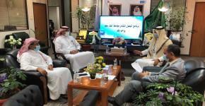 برنامج الوصول الشامل يلتقى بسعادة مدير عام المشاريع والصيانة بجامعة الملك سعود