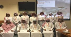 محاضرات شركة ايه بي إي سيستمز السعودية لطلاب الابتعاث الداخلي