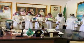 كلية المجتمع بجامعة الملك سعود تشارك في احتفالية يوم المعلم بمجمع الأمير سلطان التعليمي