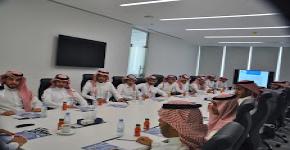 نادي المحاسبة يزور مقر الهيئة السعودية للمحاسبين القانونيين(SOCPA)