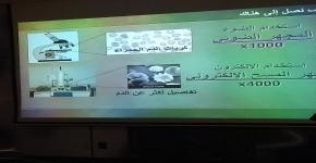 استقبال معهد النانو لطالبات النادي العلمي بعمادة الدراسات العليا