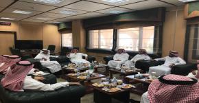 وفد من الجامعة الإسلامية يزور القبول و التسجيل