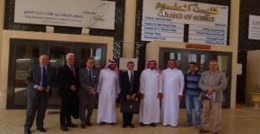 معهد الملك عبدالله لتقنية النانو يستقبل وفد مدينة زويل للعلوم والتقنية