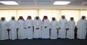 المجلس الاستشاري لقسم العلوم الإدارية يعقد اجتماعه في رحاب كلية المجتمع