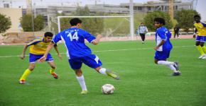 King Saud University and Najran University draw in varsity football match