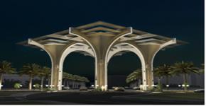مشروع تصميم البوابات لمداخل المدينة الجامعية