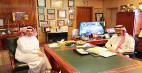 رجل الأعمال عبدالرحمن الجريسي يشيد بإنجازات كرسي الجريسي لأبحاث الحمض النووي