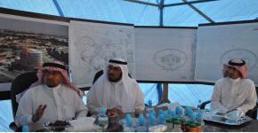 الشيخ الهليل في رحاب أوقاف جامعة الملك سعود