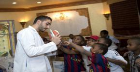 """اليوم التوعوي لأطفال الجمعية الخيرية لرعاية الأيتام """" انسان"""""""