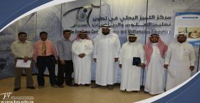 كرسي الشيخ العبيكان يواصل تميزه العلمي في تطوير تعليم العلوم والرياضيات عقد دورة تدريبية لتطوير المهارات البحثية لطلبة الدراسات العليا