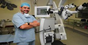 KSUMC Uses Latest Device for Neurosurgery