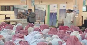 كلية المجتمع بجامعة الملك سعود تنظم فعالية التوعية بالحوادث المرورية وأضرار التدخين في مدرسة الإمام الألوسي الثانوية