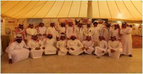 طلاب المجتمع يزورون معرض الأمير نايف بن عبدالعزيز لحماية الشباب
