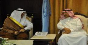 KSU Receives Visit from Foreign Affairs Undersecretary HRH Prince Mohammad