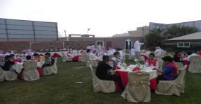 كلية المجتمع بجامعة الملك سعود تنظم إفطاراً للإيتام
