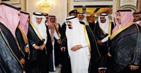 خادم الحرمين يستقبل مديري جامعتي الملك سعود والملك خالد