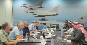 وفد من القوات الجوية البريطانية يزور معهد الامير سلطان لأبحاث التقنيات المتقدمة (PSATRI)