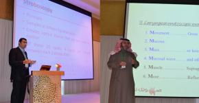مشاركة كرسي بحث أمراض الصوت والبلع والتخاطب بمؤتمر الكويت الأول لأمراض الحنجرة والصوت